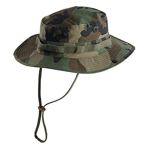 Pielcu Sombrero Chambergo Airsoft Boonie Hat - Talla L, 59 cm. de perimetro 80860-L