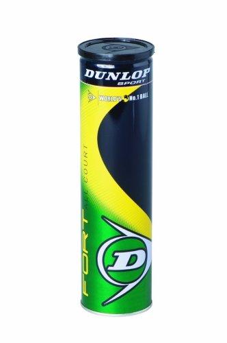 Dunlop Tennisball Fort All Court, gelb