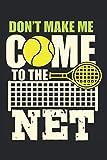 Notebook: tennis, racchetta da tennis, pallina da tennis, partita di tennis,: 120 pagine a righe: taccuino, album da disegno, diario, elenco delle ... pianificare, organizzare e prendere appunti.