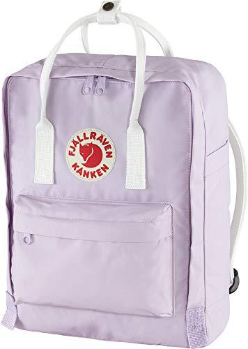 Fjällräven Unisex-Adult Kånken Sports Backpack, Pastel Lavender-Cool White, One Size