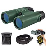 Gosky 8x42 Binoculars for Adults, Compact HD Professional Binoculars for Bird Watching Travel Stargazing...