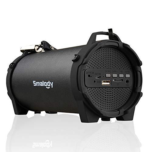 Docooler Smalody SL-10 draadloze BT luidspreker outdoor soundbox 10W stereo bass subwoofer ondersteuning FM-radio TF U aandrijving Aux in w/Mic riem