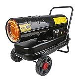 Calentador queroseno aire,Queroseno/Diesel Forzado Calentador torpedo aire Calentador combustible industrial Calentador diesel Alto Voltaje Estufa de aire caliente Calentador invernadero,20kw