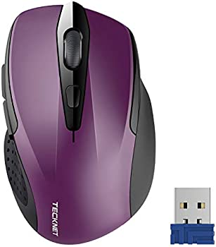 TeckNet Pro 2.4G Ergonomic Wireless Optical Mouse with Receiver