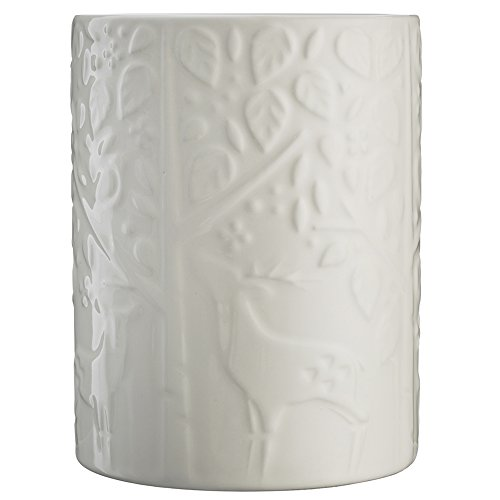 Mason Cash 2001.087 Forest Utensilienhalter, Keramik, cremefarben