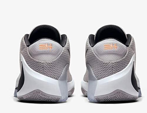 Nike Zoom Freak 1 Basketball Shoes (Cool Grey/White, Numeric_14)