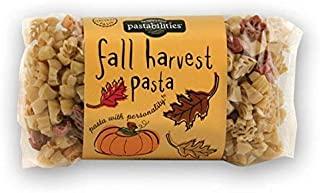 Fall Harvest Thanksgiving Kids Adults Fun Novelty Shapes (BONUS SD EXCLUSIVE HOLLIDAPPY) Bowls Noodles Spaghetti Sauce Shaped Pasta ~ Leaves & Pumpkins