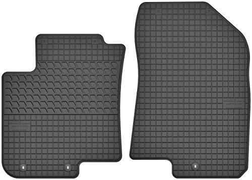 Motohobby Gummimatten Vorne Gummi Fußmatten Satz für Hyundai i20 II (ab 2014) - 2-teilig - Passgenau