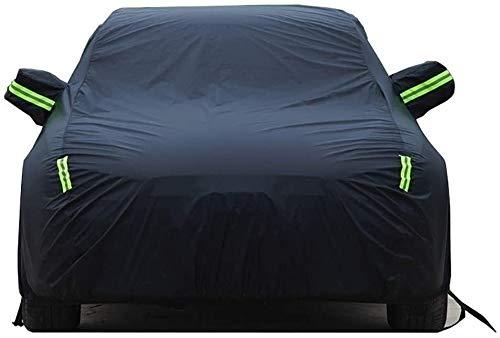 Cubierta de coche a prueba de intemperie para Cubierta de coche de Compatible con Chevrolet Traverse Cover Carpa Tarpaulin Car Ropa Aislamiento de protección solar Polvo a prueba de agua Sombrilla a p