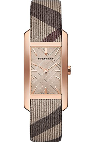 Burberry BU9408 Square Case Rose Gold Tone Women's Watch
