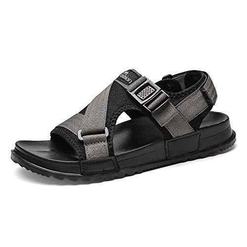 Sandalias duraderas para Hombres Sandalias de Verano para Hombres Sandalias y Zapatillas Casuales Zapatos de Playa Transpirables Moda Sandalias de Fondo Suave y cómodas