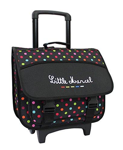 Cartable Trolley Scolaire Little Marcel - 40cm - Petits...