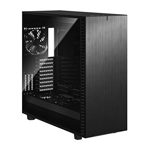 Fractal Design Define 7 XL Black Brushed Aluminum/Steel E-ATX Silent Modular Dark Tinted...