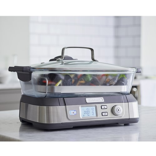 Cuisinart Professional Glass Steamer | Stainless Steel | STM1000U