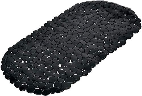 fond de baignoire galet pvc 36*69cm vitamine noir