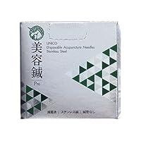 ユニコ ディスポ鍼 美容鍼Pro 240本入 (#1番(0.16)3分)