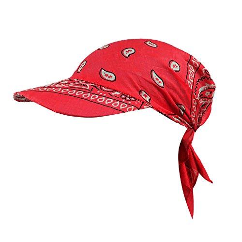 FRAUIT dames retro zonnehoed bloem turban muts vizier katoen caps rand turban tennis baseball muts handdoek van katoen, scherm,