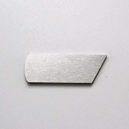 ZHONGJIUYUAN 1 cuchillo inferior para Viking Huskylock 901 460D blanco 634D, 7234 PFAFF 4767