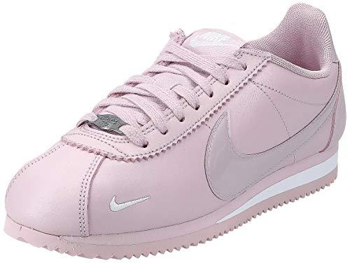 Nike Wmns Classic Cortez Prem, Zapatillas de Atletismo Mujer, Multicolor (Plum Chalk/Plum Chalk/White 501), 38.5 EU