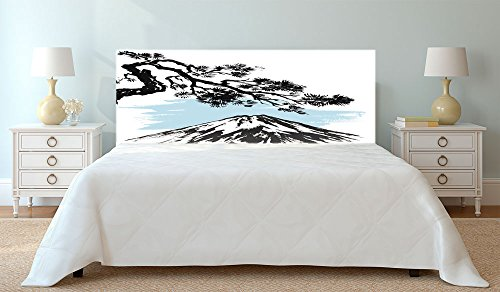 Cabecero Cama PVC Impresión Digital Japones Multicolor 150 x 60 cm   Disponible en Varias Medidas   Cabecero Ligero, Elegante, Resistente y Económico