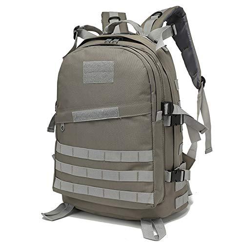 Mochila táctica, Paquete de Asalto Militar de 40 Large Oxford Daypack para Acampar Survival Trekking Caza Pesca,P