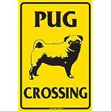 なまけ者雑貨屋 Dog Crossing ブリキ メタル プレート サイン アンティーク アメリカン ダイナー レトロ インテリア 雑貨 ガレージ 看板