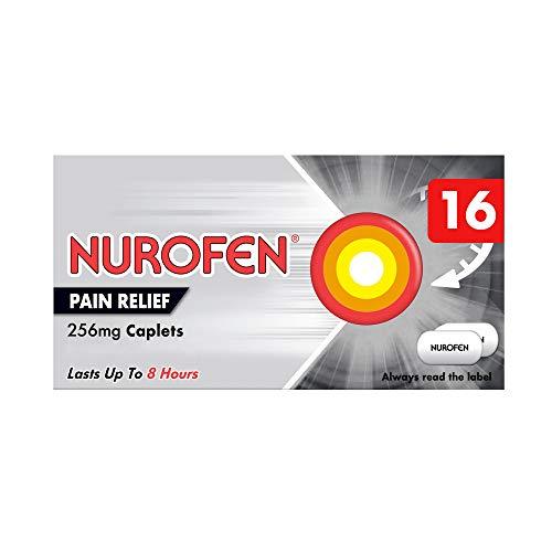 Nurofen Pain Relief Ibuprofen Caplets, Pack of 16