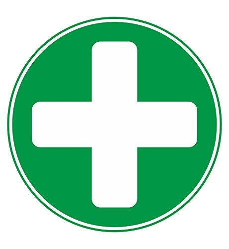 2pegatinas de vinilo, de primeros auxilios, de emergencia