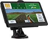 GPS Navigation for car, Latest 2021 Map 7-Inch HD Touch Screen 256-8GB Navigation System, with Voice Guidance and Speed ​​ Warning, Lifetime Free Map Updates