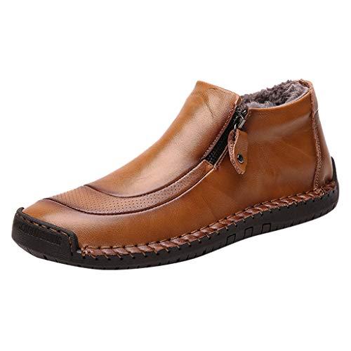 eiiu000333 Plus Samtstiefel Herrenmode Trend Größe Kleid Gaobang Herrenschuhe 39-48 dick warm hoch, um Outdoor-Stiefel Wanderschuhe zu helfen