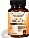 Keto Bhb Capsules Advanced Exogenous Ketones Salts 1200mg - Natural Energy Support with Ketosis - Made in USA - Ketone Weight Support Supplement with Hydroxybutyrate for Men and Women - 60 Capsules