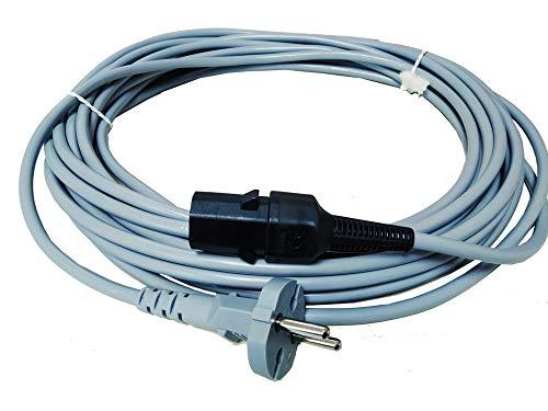 Cable para aspiradoras Nilfisk/Alto GM80, GM90, GM100, GS80, VP300, Saltix 10, Sprint, VP600, Soremap S12 Tennant V6.