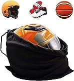 KOOU Hockey Helmet Bag Motorcycle Helmet Bag Ski Helmet Drawstring Bag Baseball Helmet Bag Helmet Backpack Small Gym Bag Sports Bag Lightweight Storage Carrying Bag for Riding Bicycle Travel Bags