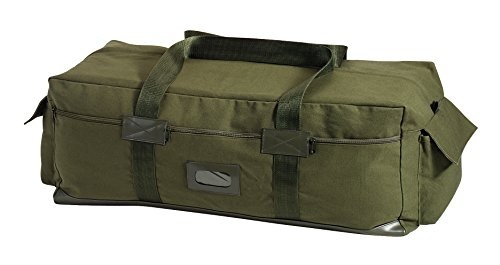 Rothco Canvas Israeli Type Duffle Bag, Olive Drab