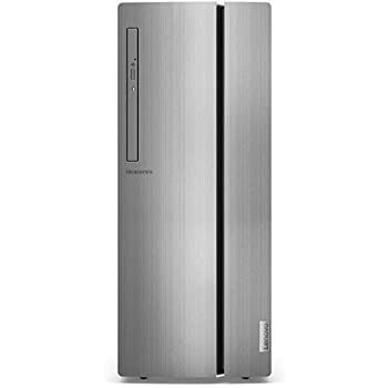 Lenovo Idea Centre 510 Desktop, Processore Intel Core i5-9400F, 512GB SSD,RAM 8GB, Scheda Grafica AMD Radeon RX 560, Mouse+Keyoard USB, Lettore DVD±RW, Windows 10, Silver