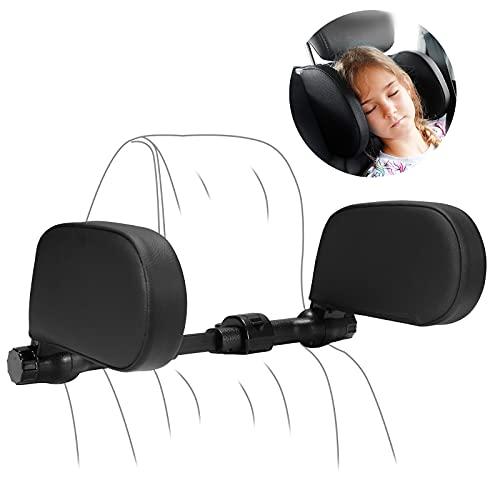 Yoocaa Car Headrest Pillow, Road Pal Headrest, Adjustable Car Seat Head Neck Support, U Shaped Car...