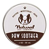 dry cracked paw soother for dogs, all natural