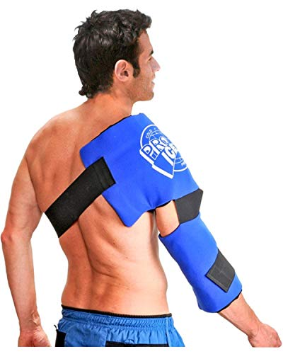 Adult Shoulder/Upper Arm Ice Pack - Helps Relieve Pain of Rotator Cuff, Upper Arm, and Elbow - by Pro Ice