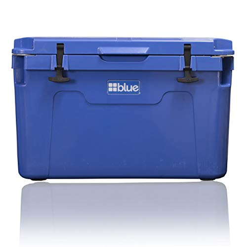 Blue Coolers Ark Series 100 Quart, Roto-Molded Ice Cooler | Large Ice Chest Holds Ice up to 10 Days | (Blue)