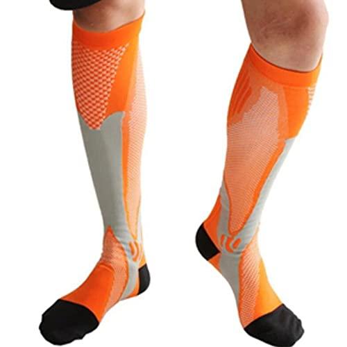 Moosunsa Calzini sportivi professionali per adulti e bambini, a compressione, ad asciugatura rapida, traspiranti, per sport e basket, da uomo e donna, ragazzi