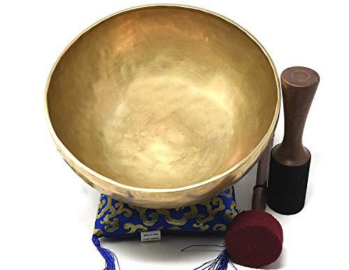 11&Quot; D-Chakra Master Healing Singing Bowl,Meditation Bowl,Tibetan Bowls, Free Singing Bowl Cushion,Striker And Drum Stick.