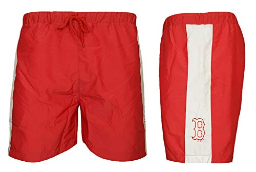 MLB Badeshorts Majestic Boston Red Sox S rot