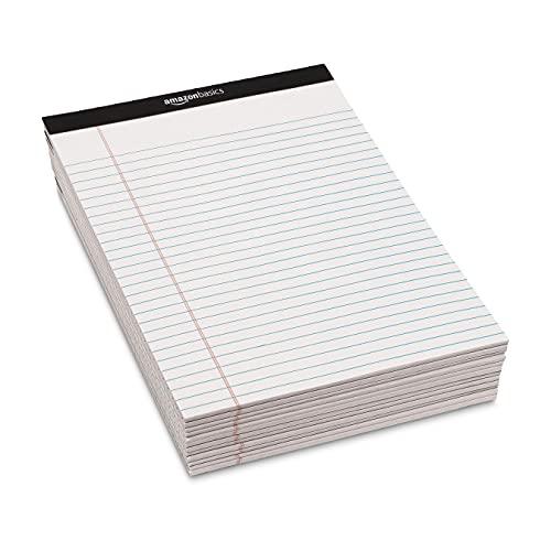 『Amazonベーシック メモ帳 ワイド罫リーガルパッド 30×22cm ホワイト 50枚×12冊』の6枚目の画像