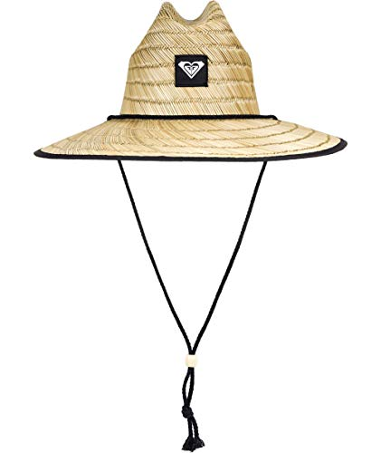 Roxy Women's Tomboy 2 Straw Sun Protection Hat, True Black, S/M