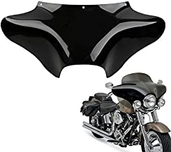 TCT-MT ABS Front Outer Batwing Fairing Fit For Harley Touring Softail Dyna Road King 1994-2016 Fat Boy Street Bob Yamaha V Star 650 1100 classic Suzuki VL800K1 Volusia C50/C50T Black
