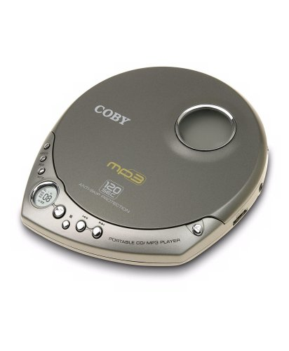 Coby MPCD511 Personal MP3 CD Player