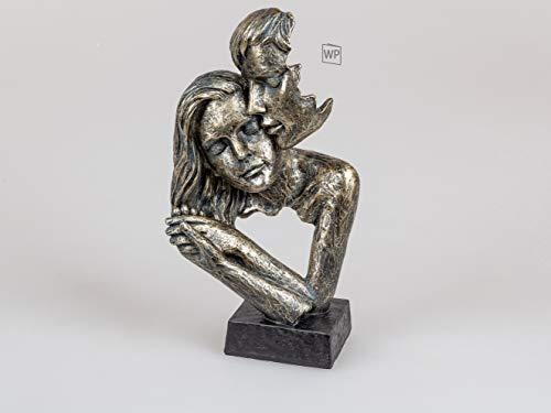 761873 -Formano - Skulptur Büste Paar auf Sockel - Bronze, 32cm