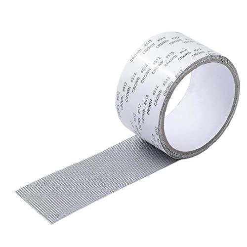 Nastro di riparazione della finestra con forte adesivo impermeabile in fibra di vetro anti-zanzara nastro nastro grigio, kit di artigianato
