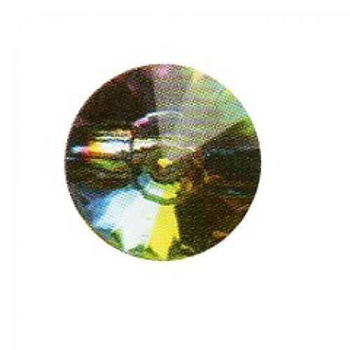 Hemline Pierre ronde à facettes comme bouton Multicolore 12,5 mm-Lot de 3