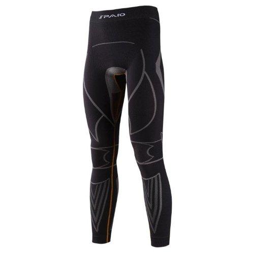 SPAIO Extreme Leggings Hommes, Noir/Gris, XL